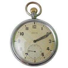 WW2 GSTP Pocket Watch by Recta