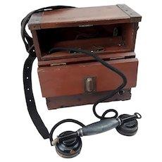 WW1 Trench Field Telephone