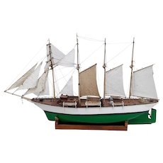 Radio Control Model Of The Chilean Sail Training Barquentine Esmeralda