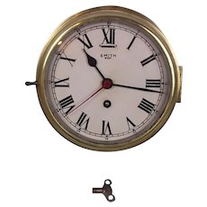 c1930's Smith 8 Day Ships Clock