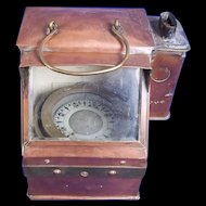 Early 20th Century Copper Binnacle Compass