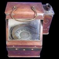 Early 20th Century Copper Binnacle Compass