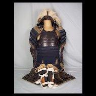 Circa 1750 Edo Period Japanese Samurai Armour