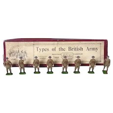 Britains Soldiers Set 1918, c1939, 'Types of the Army' Home Guard