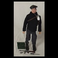 1960's Palitoy Action Man Soldier French Resistance Fighter