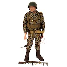 1960's Palitoy Action Man Beachhead Assault / Paratrooper Soldier