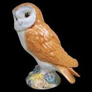 Beswick Pottery Model Of A Small Tawny Barn Owl