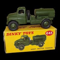 Dinky Toys No. 643 Army Water Tanker, Boxed