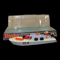 Dinky Toys No. 675 Motor Patrol Boat With Three Missiles, Boxed