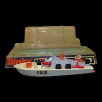 Dinky Toys No. 675 Motor Patrol Boat With Four Missiles, Boxed #2