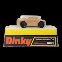 Dinky Toys 680 Ferret Armoured Car Sand Version (Boxed) #2