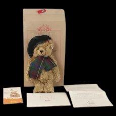 Steiff Club 654732 Limited Edition Scottish Teddy Bear (2007 of 3000)