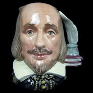 Royal Doulton Small Character Jug Of Shakespeare by William K. Harper