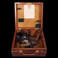 Cased Hezzanith Three Circle Frame 'Rapid Read' Sextant
