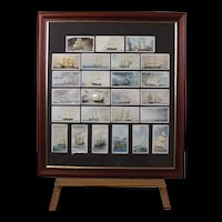 Players Golden Age of Sail Cigarette Cards 1978