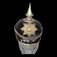 Circa 1905 Royal Saxon NCO's 1st Life Guard Grenadier Regiment Pickelhaube