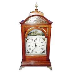 Fine Twin Fusee Regency Bracket Clock By Joseph Johnson 1780-1827