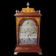c1800 Fine Quality Parquetry Striking Bracket Clock