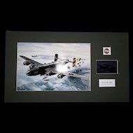 Airfix Original Artwork Cibachrome Print & Photo Negative Handley Page Halifax