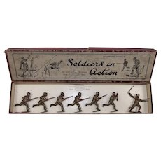Britains Toy Soliders Set 1613 British Infantry In Action 1940 Version