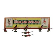 John Hill Toy Soldiers  Set 141 - Scots Highlanders Brigade
