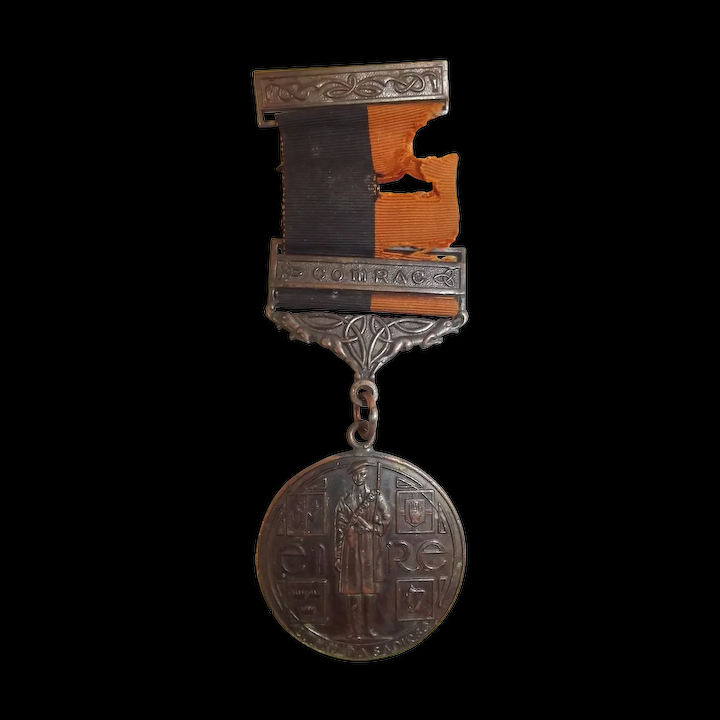 Named KIA 1941 IRA General Service Medal With Comrac Clasp