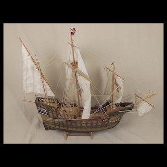 Well Built Model Of The Santa María 1460 1:32 Scale