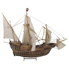 Well Built Model Of The Santa María 1460 1:32 Scale