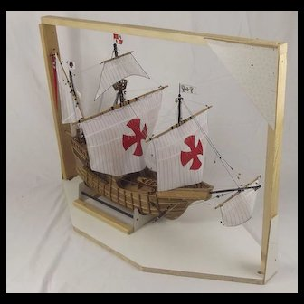 Well Built Model Of The Santa María 1460 1:50 Scale