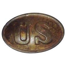 American Civil War Union Cartidge Box Plate
