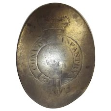 Circa 1796 County Donegal Ireland Convoy Infantry Cross Belt Plate