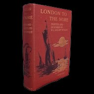 1905 London To The Nore By William L. Wyllie & Marian Amy Wyllie, 1st Edition #3