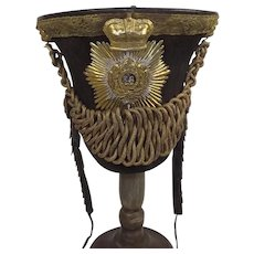 Herefordshire 36th Regiment General Officers 1822/29 Pattern Bell Top Shako