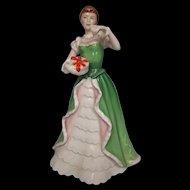 "Royal Doulton Figurine ""Merry Christmas"" #HN3096"