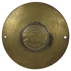 Circa 1900 Steam Capstan Bronze Top
