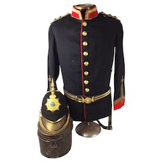 Edward VII Education Corps Uniform Set Of Lieut. J Cunningham Esquire