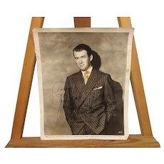 "Signed Autograph Universal James ""Jimmy"" Stewart Studio Shot 1953 Photograph"