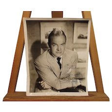 Signed Paramount Bob Hope Studio Shot 1956 Photograph By Bud Fraker