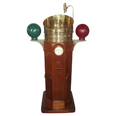Circa 1880/1900 Ships Compass Binnacle By Observator Of Rotterdam