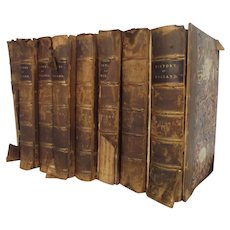 Charles Knight's Popular History England - 8 Volumes - 1856/62