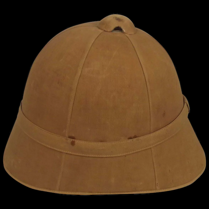 ca4b9193a4bbb Late Victorian   Boer War Period British Army Pith Helmet   The Antiques  Storehouse