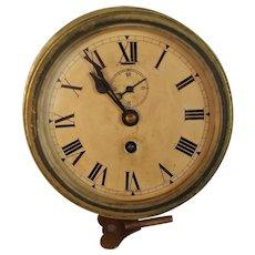 1956 F.W. Elliot Brothers Ships Bulkhead Clock