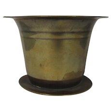 Circa 1800 Georgian Brass Mortar