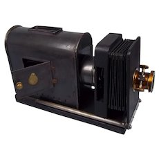 French Magic Lantern Slide Projector c1920
