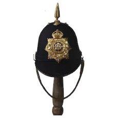 1878 Pattern East Yorkshire Regiment Blue Cloth Helmet