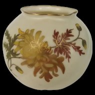 Graingers & Co. Worcester Blush Ivory Cache Pot