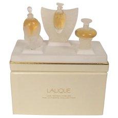 Lalique Les Introuvables Ultimate Edition Three Bottle Set (2000/01/02)