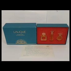 Lalique Les Introuvables Three Bottle Set (1992/94/95)