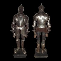 Victorian Composite Suit Of Armour With A 16th Century Front Armour Plate