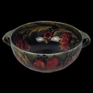 William Moorcroft Two Handled Footed Bowl Spanish Pattern Circa 1916